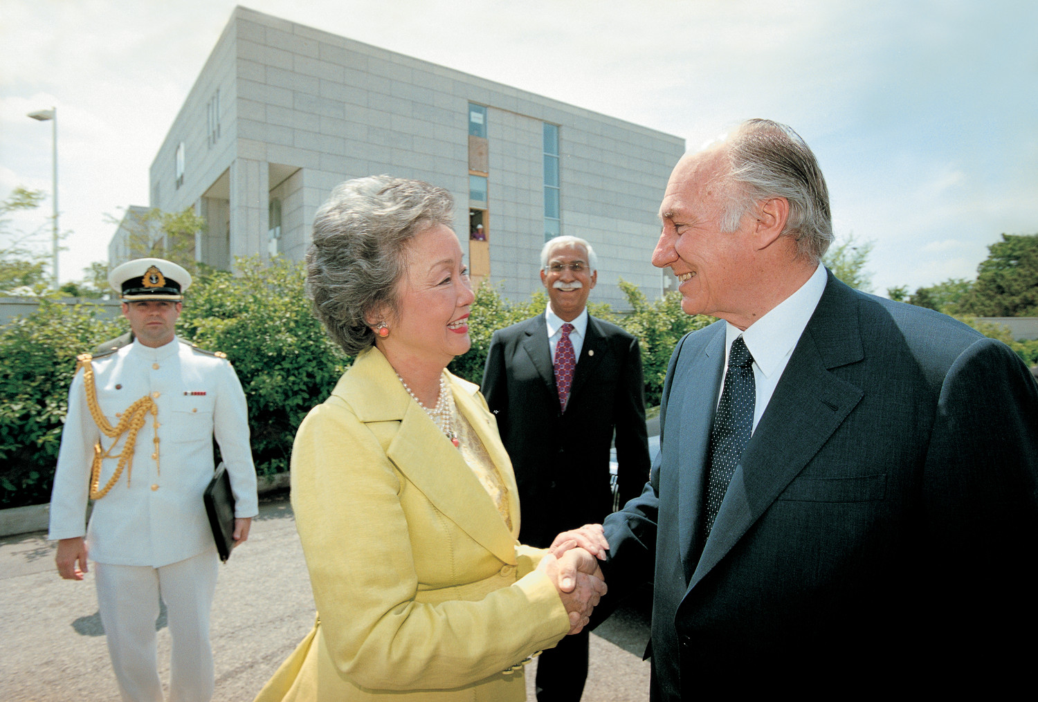 Aga Khan And Governor General Of Canada Initiate Delegation Of The
