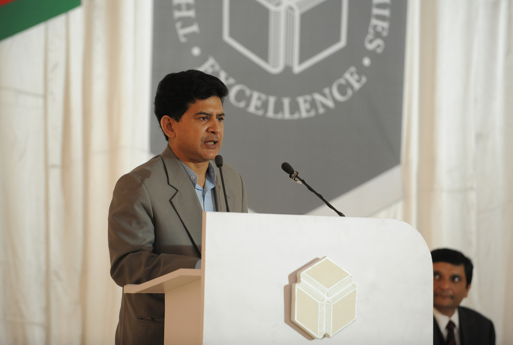 Speech by Dr  Hossain Zillur Rahman at the foundation stone-laying