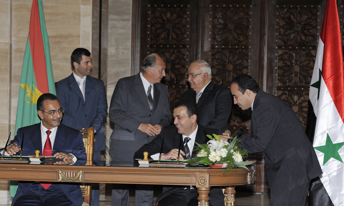 Aga khan development network and government of syria sign mr platinumwayz