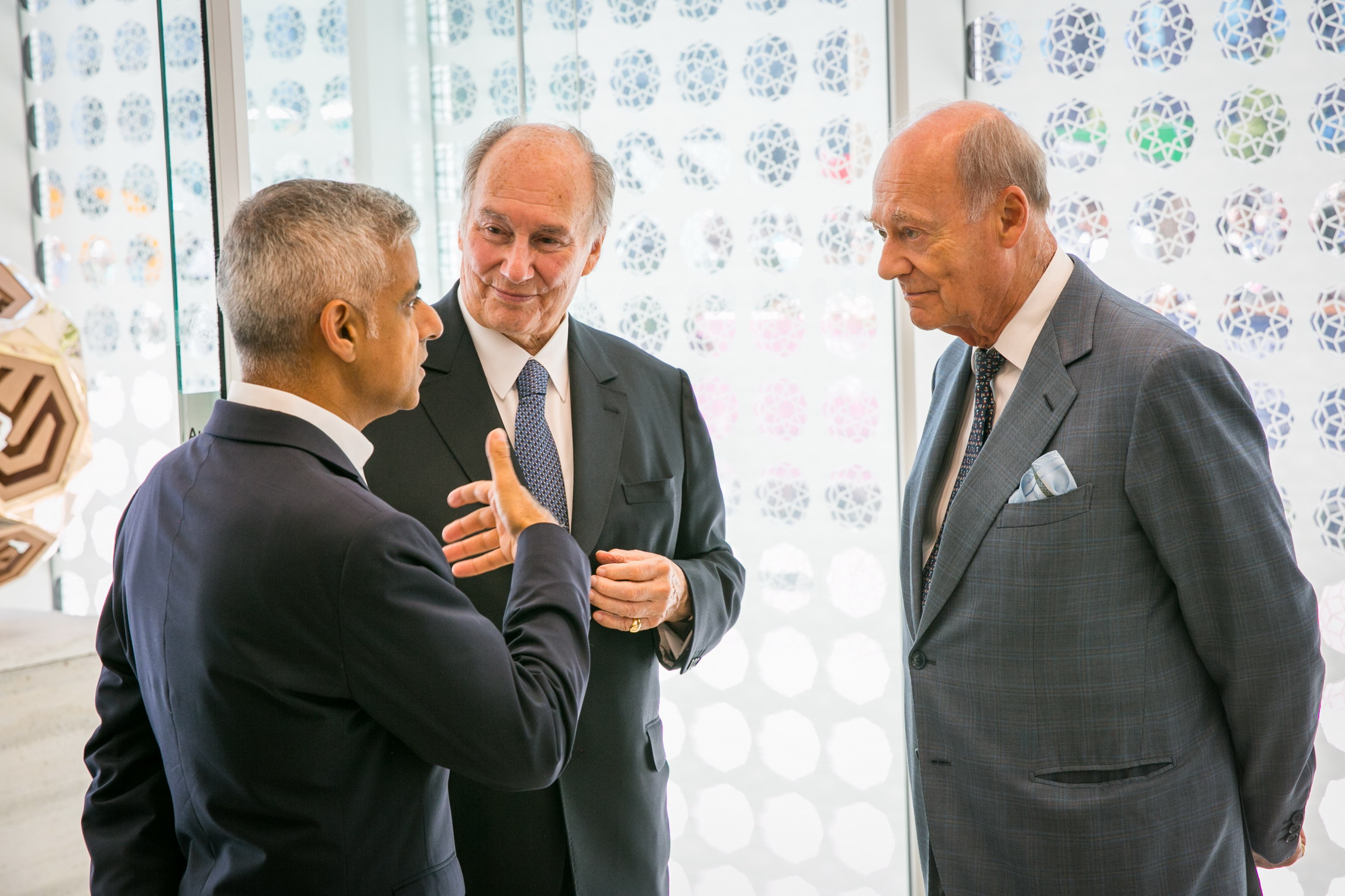 His Highness the Aga Khan and