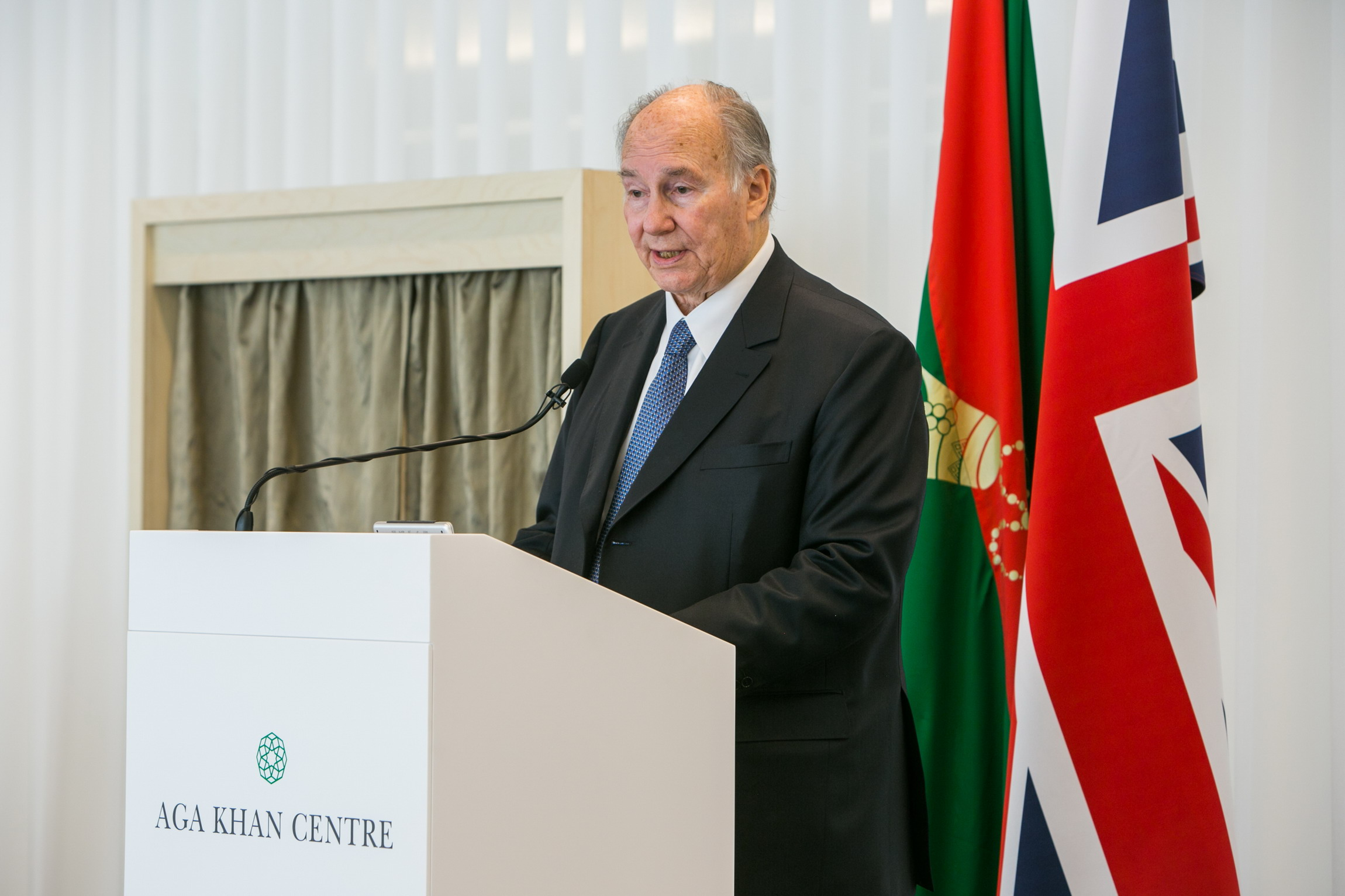 His Opening of the Aga Khan