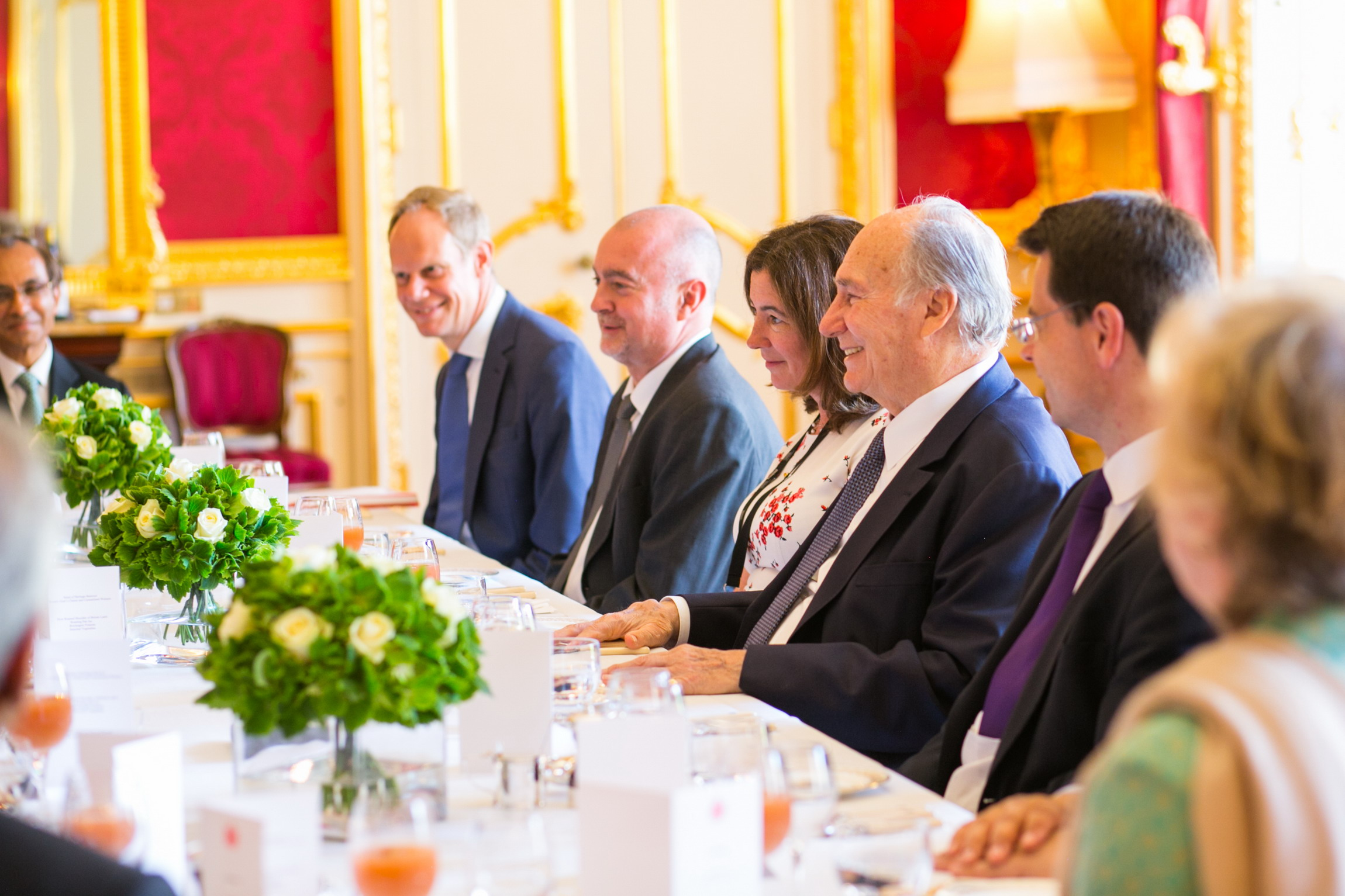 Uk Government Welcomes His Highness The Aga Khan On The Occasion Of