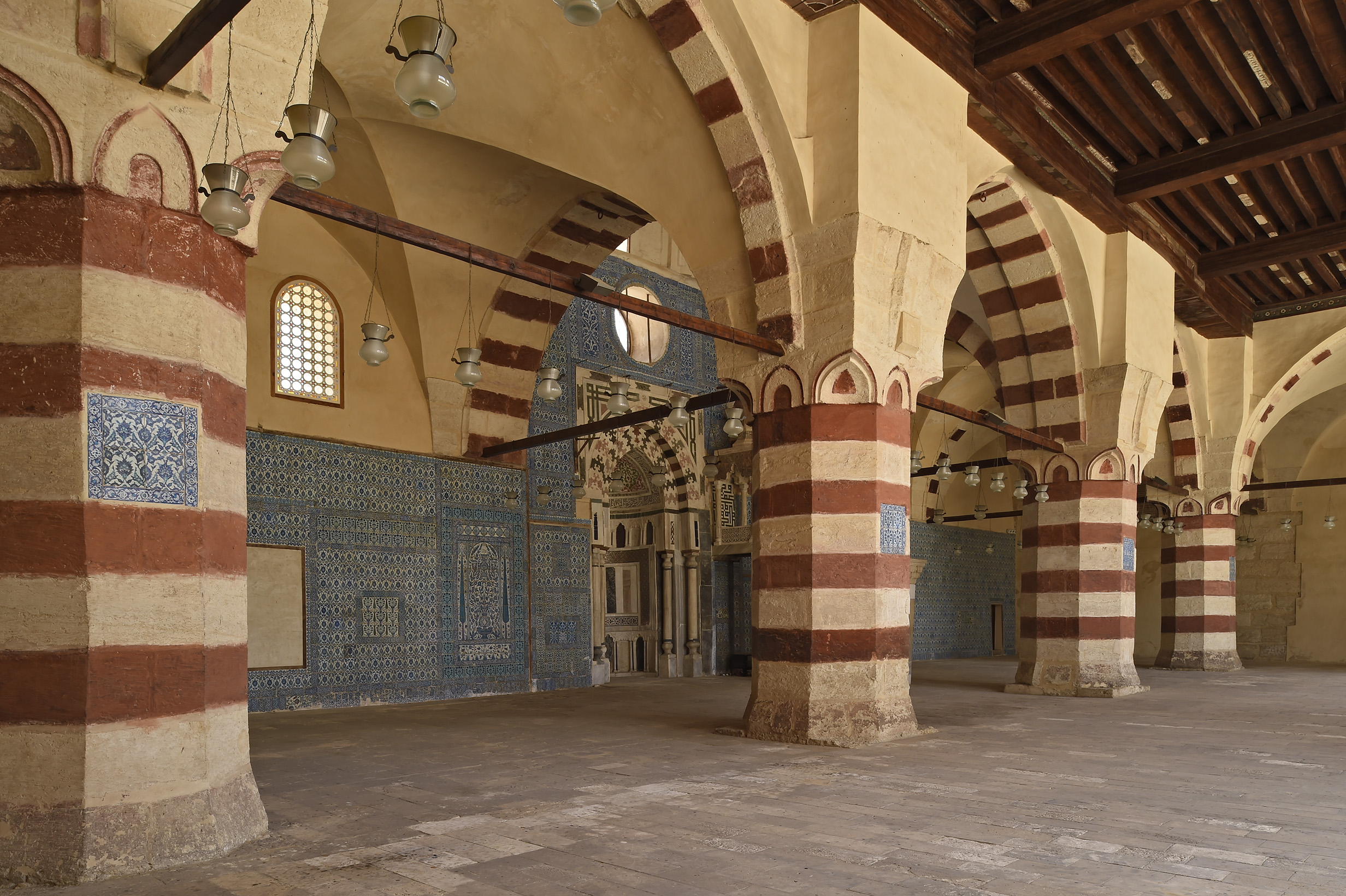 The Blue Mosque of Cairo restored by the Aga Khan Trust for Culture ...