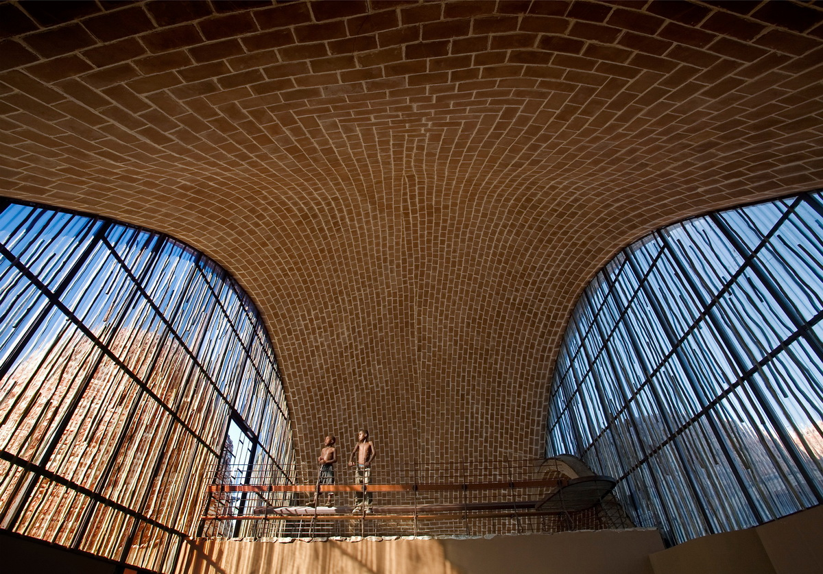 The largest vaulted space, Mapungubwe Interpretation Centre, Limpopo, South  Africa.