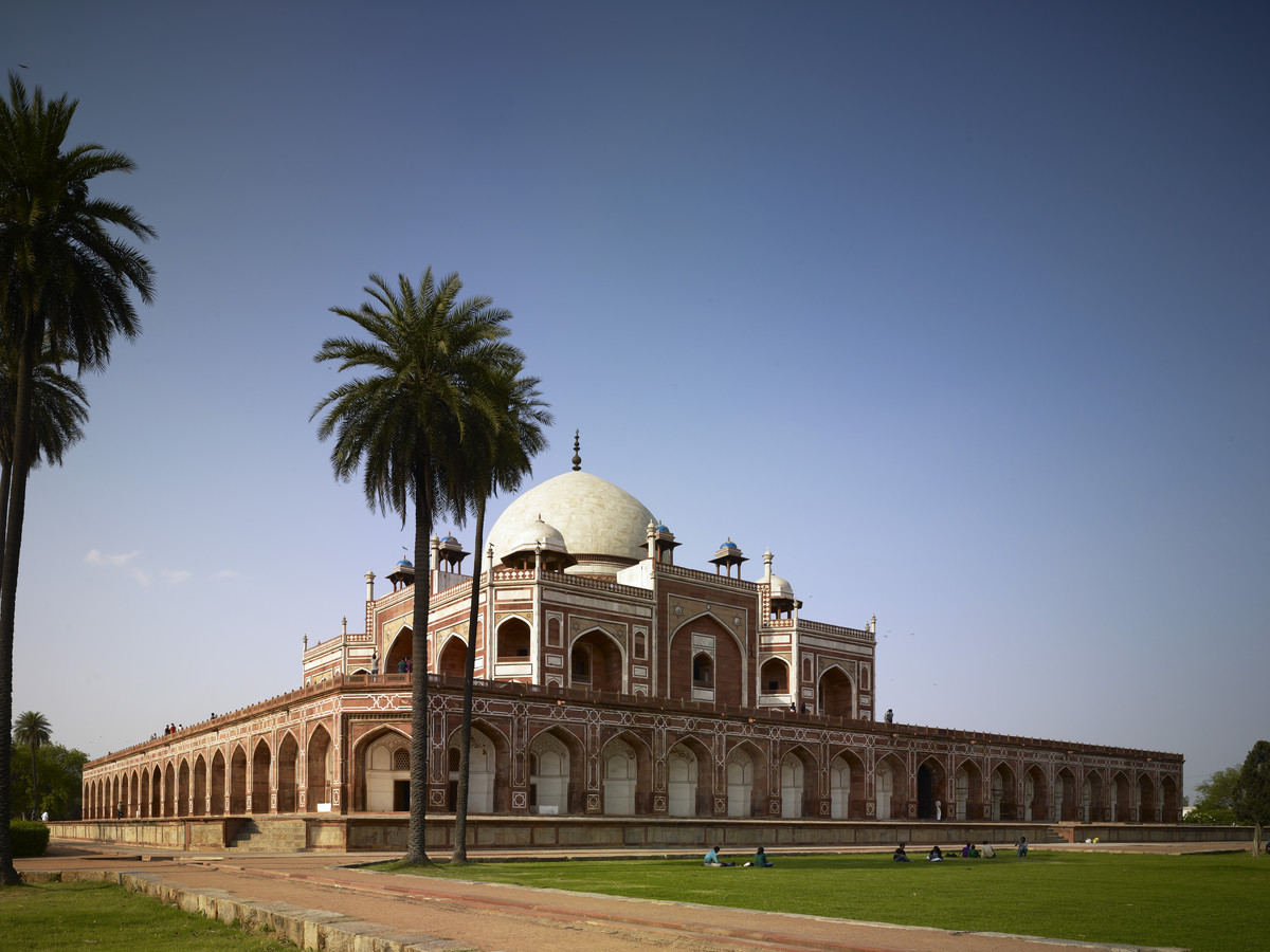 Humayun's Tomb conservation completed   Aga Khan Development