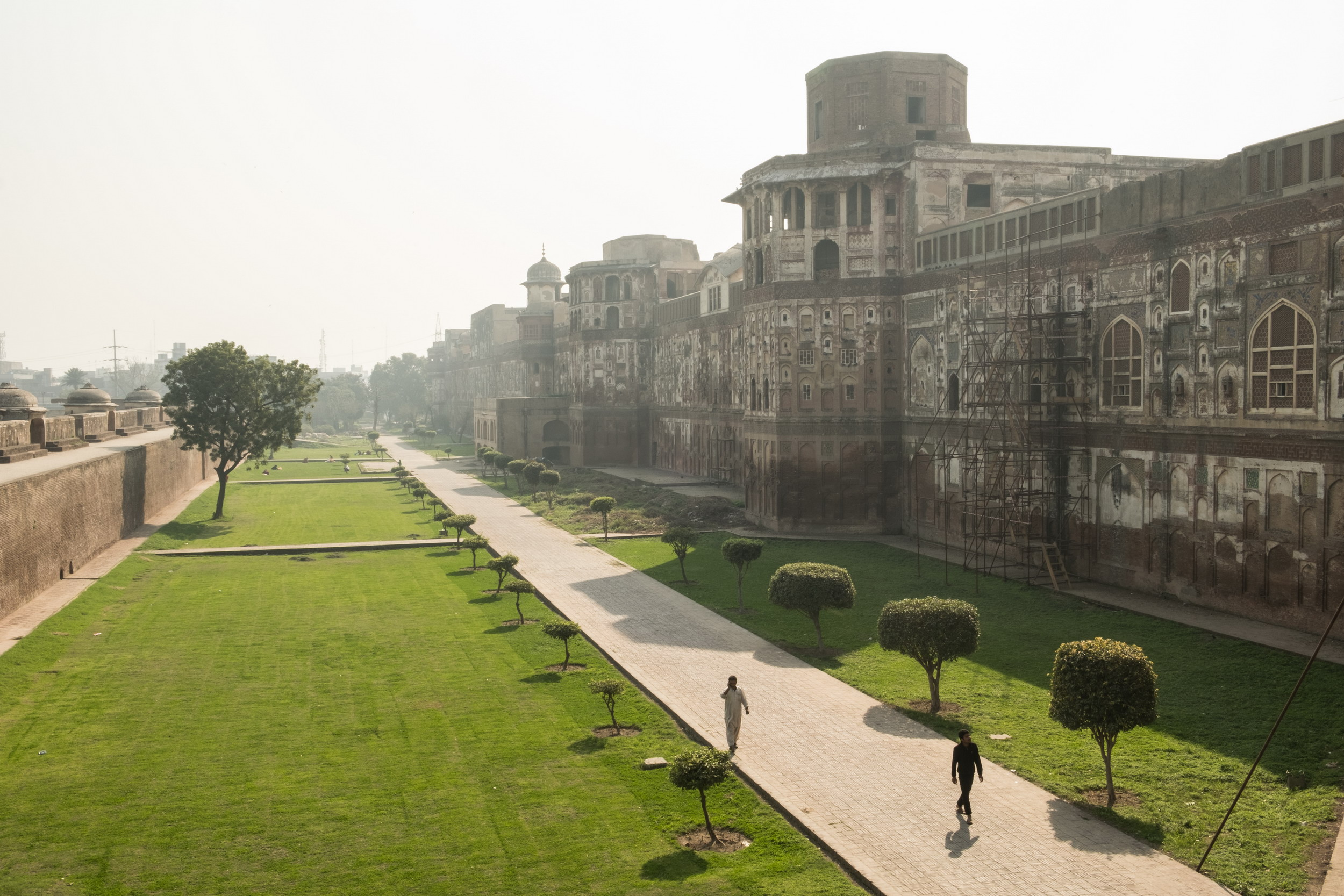 A royal fort for an empire: Shahi Qila (Lahore Fort) Lahore